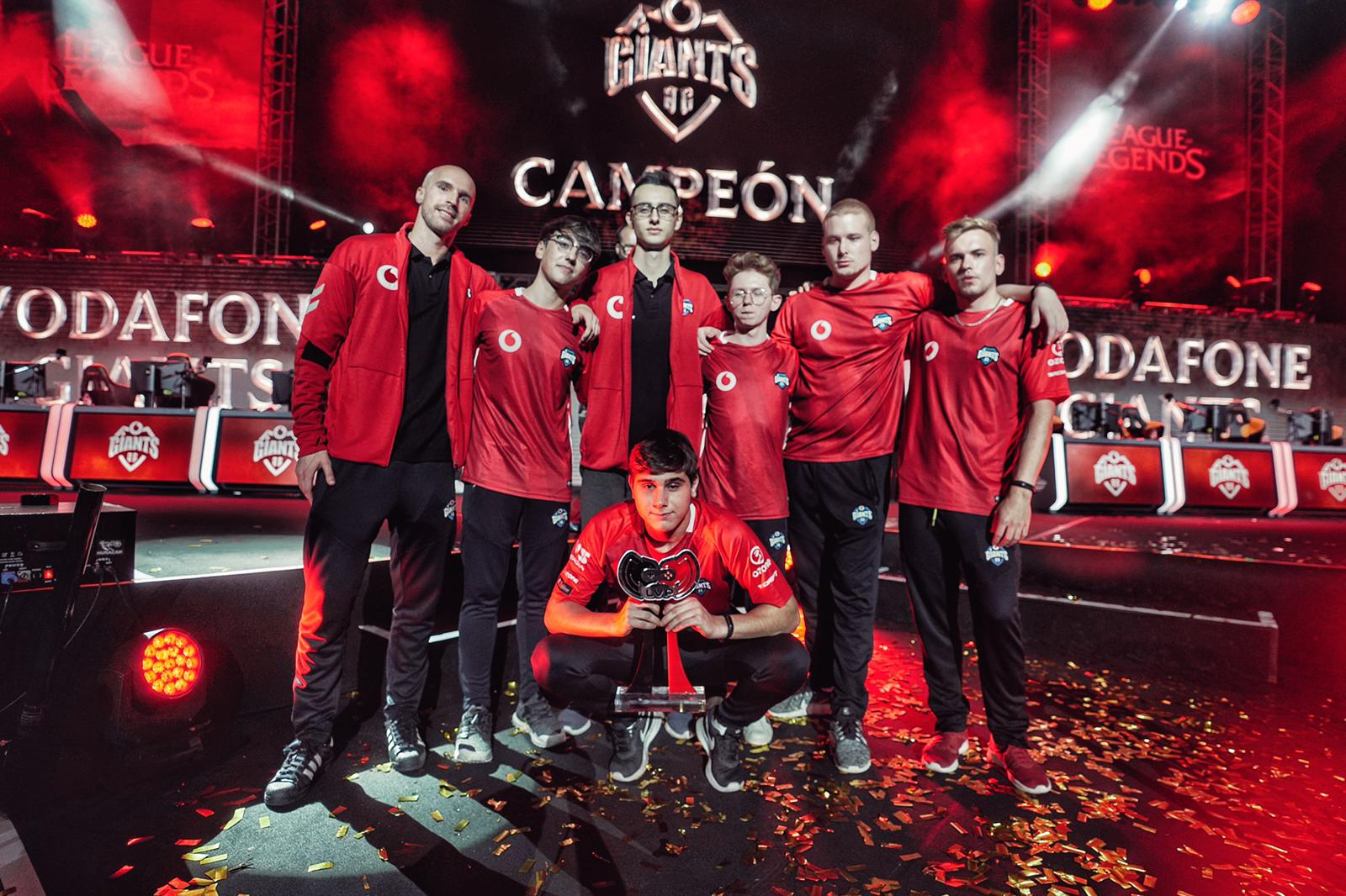 Vodafone Giants, campeón de la Superliga Orange de League of Legends