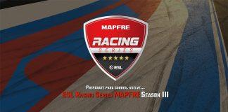 Arranca la tercera edición de la ESL Racing Series Mapfre.