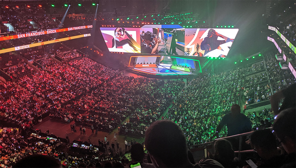 Estadio de la final de la Overwatch League 2019