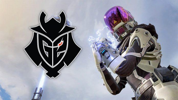 G2 Esports presenta su nuevo equipo de Apex Legends