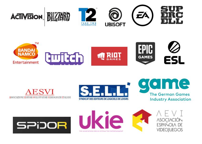 Publishers, asociaciones de videojuegos y editores se unen a nivel europeo