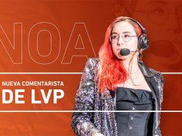 Noa es la nueva comentarista de la LVP