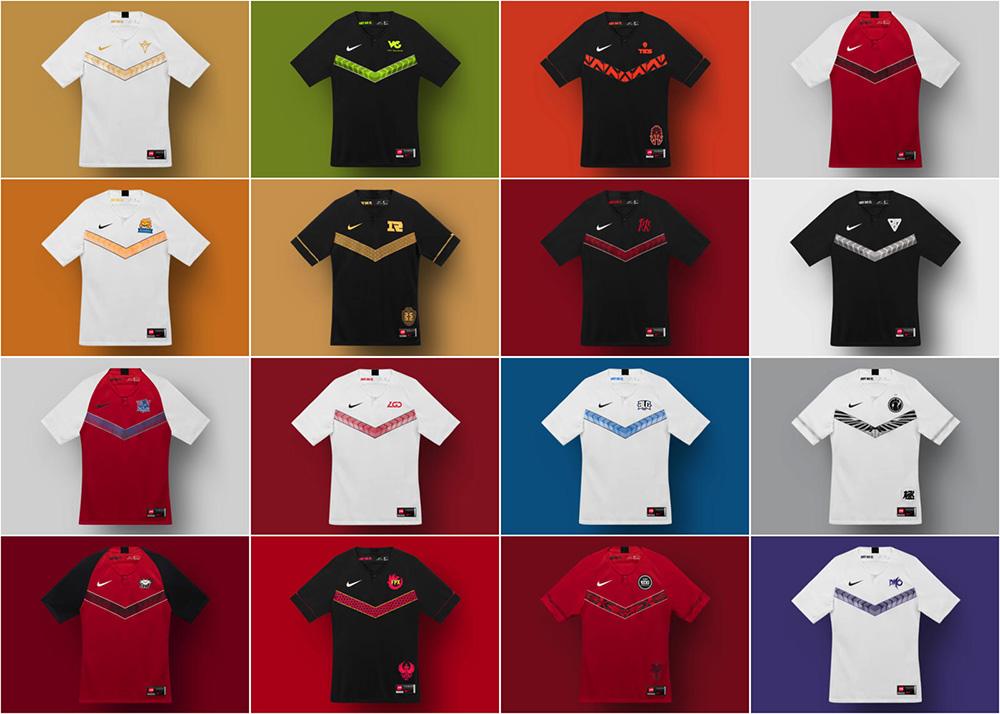 Nuevas equipaciones Nike LPL