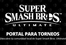 Portal para torneos de Super Smash Bros. Ultimate