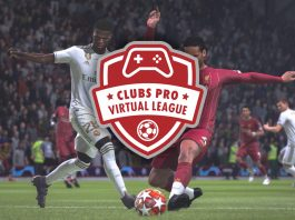 Cartel promocional Clubs Pro Virtual League