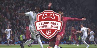 Cartel promocional Clubs Pro Virtual League