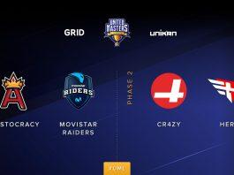 Movistar Riders jugará la United Masters League