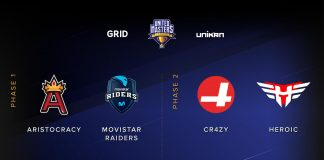 Movistar Riders jugará la United Masters League