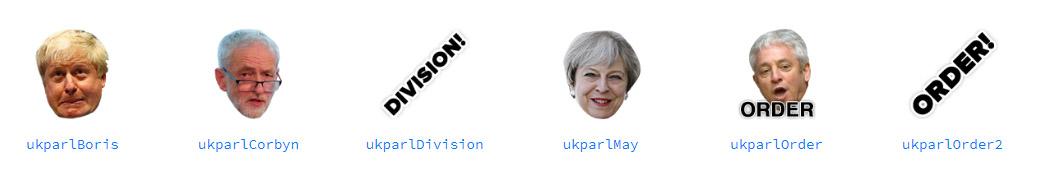 Emotes del canal ukparliament