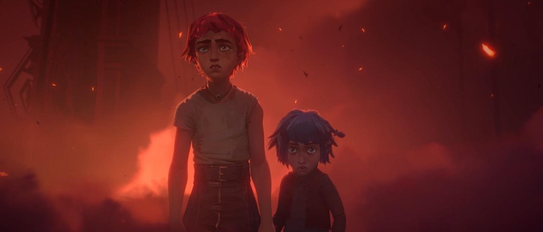 Uno de los fotogramas del trailer de la serie | Fuente: Riot