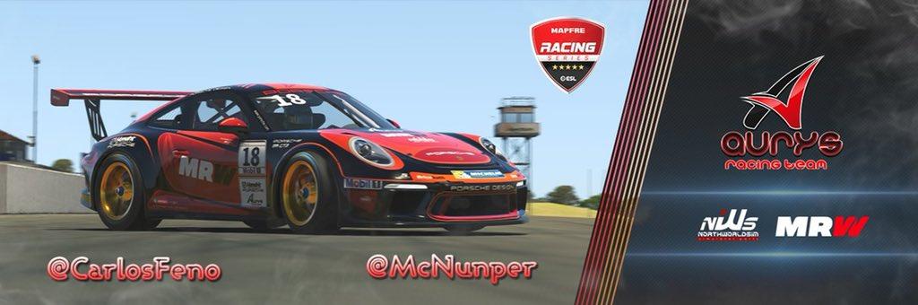 Porsche 911 GT3 Cup de Aurys Racing.