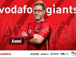 Axeel, nuevo fichaje de FIFA de Vodafone Giants