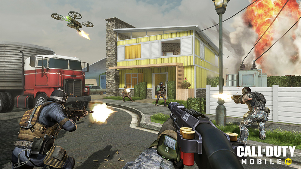 Imagen del Call of Duty Mobile en Nuketown.