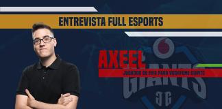 Entrevista a Axeel, jugador de FIFA para Vodafone Giants