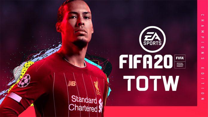 Predicción del equipo de la semana de FIFA 20