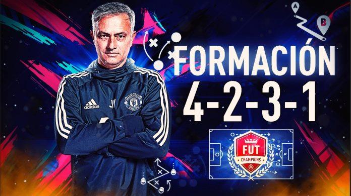 FIFA 20: Formación 4231