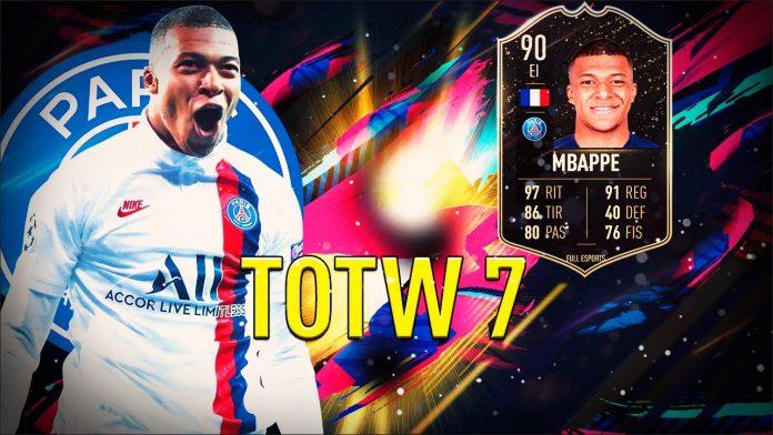 Kilyan Mbappé está en el TOTW 7 de FIFA 20