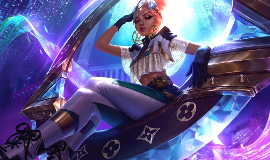 Este es el splashart de la skin de prestigio de Qiyana | Fuente: Riot Games