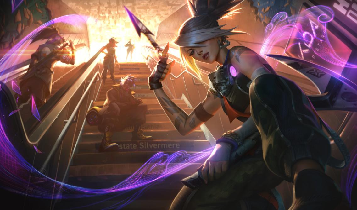 Este es el renovado aspecto de Akali | Fuente: Riot Games