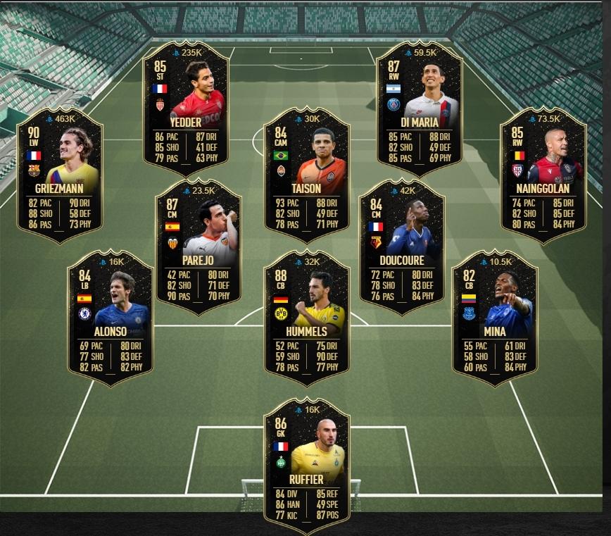 Equipo de la semana seis de FIFA 20