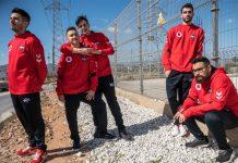 Plantilla de Rainbow Six de Vodafone Giants