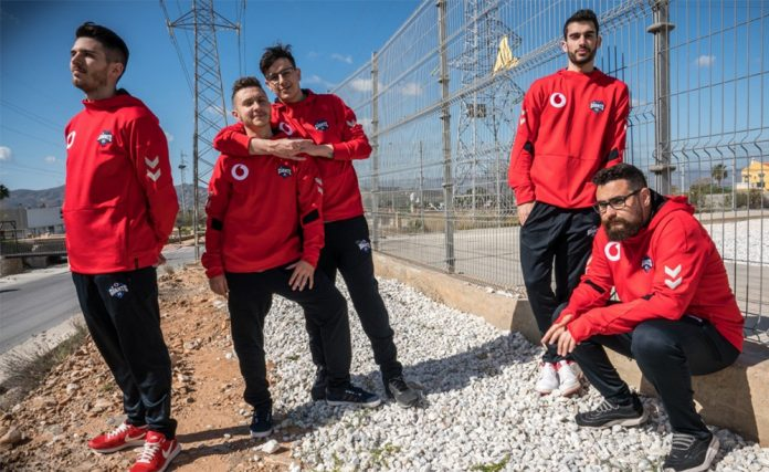 Plantilla de Rainbow Six de Vodafone Giants
