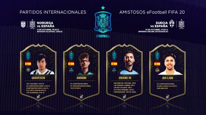 La Seleccion Española de FIFA viajará a Suecia y Noruega.