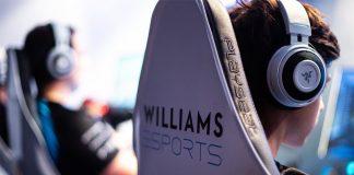 Williams Esports presenta su propia sección de coaching.