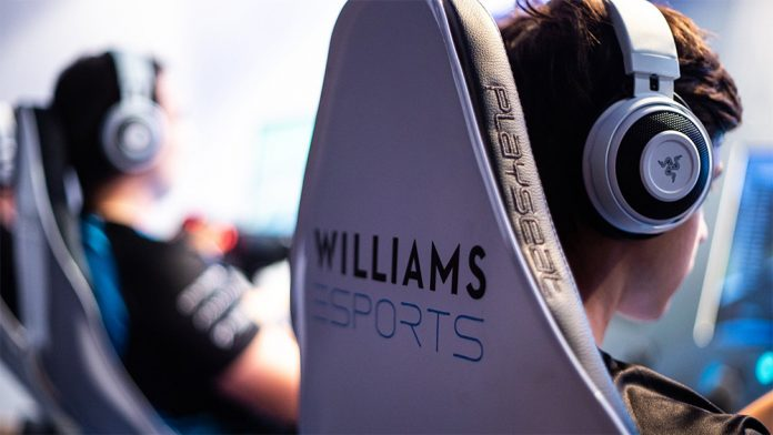 Williams Esports presenta su propia sección de coaching.