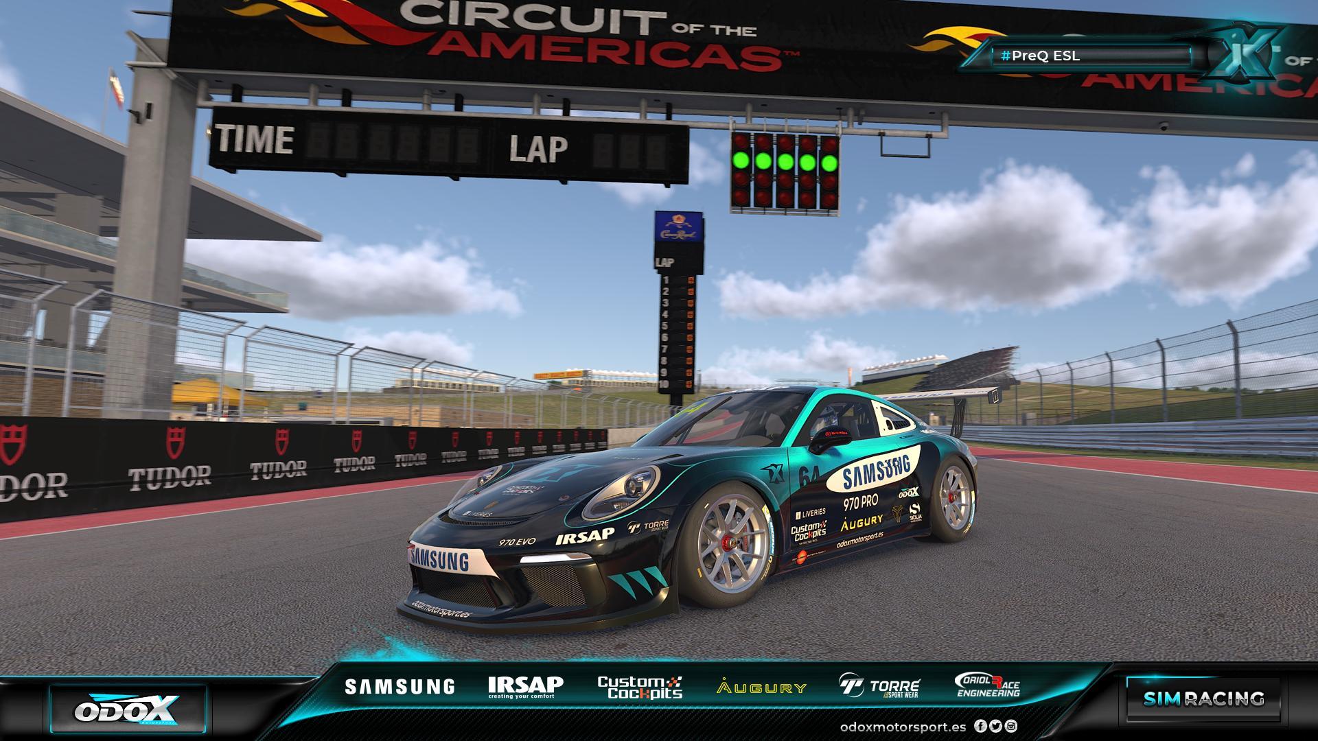 Odox Motorsport estará representado en la competición.