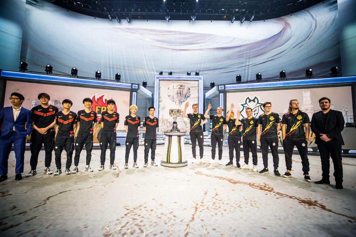 La final volverá a ser entre China y Europa, igual que en el pasado mundial. | Fuente: Riot Games