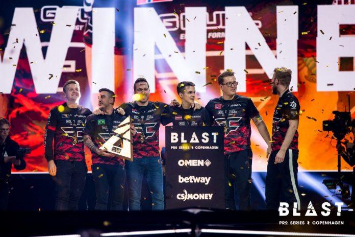 FaZe Clan, campeón BLAST Pro Series Copenhaguen