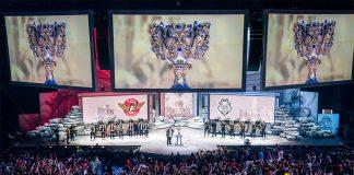 Semifinal entre G2 Esports y SKT en Vistalegre