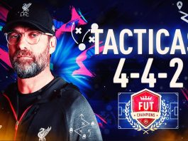 FIFA 20: Formación 442