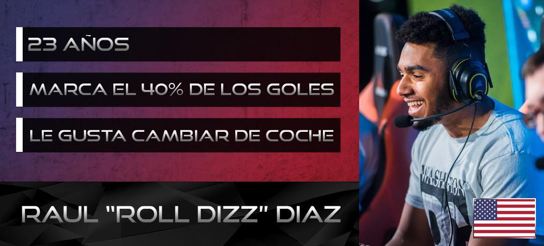 Tarjeta de jugador de Roll Dizz