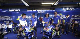 Cristian y Adrián estuvieron presentes en el GP de Silverstone.