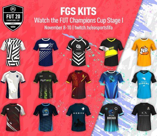 Camisetas de equipos esports disponibles en FIFA 20
