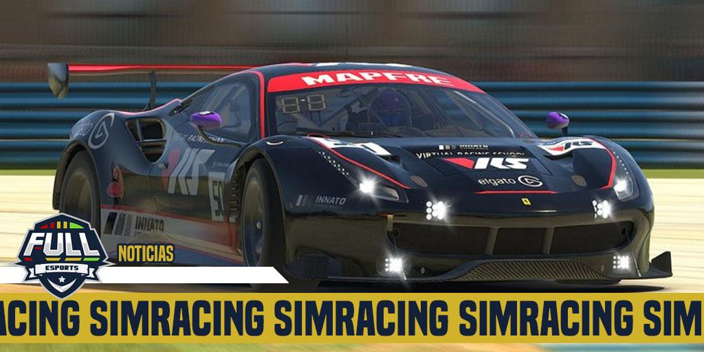 Gran victoria de Pablo López en Sebring con el Ferrari 488 GT3 - FulleSports