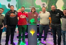 Los participantes del primer MTG Arena National League Spain