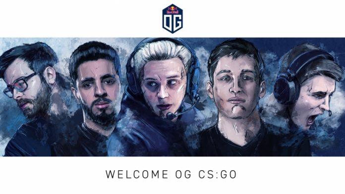 OG equipo CSGO