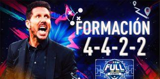 FIFA 20: La formación 4422, idónea para ataques híbridos.