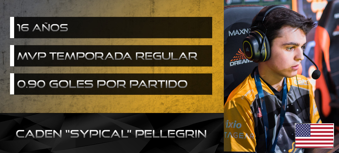 Sypical player card.