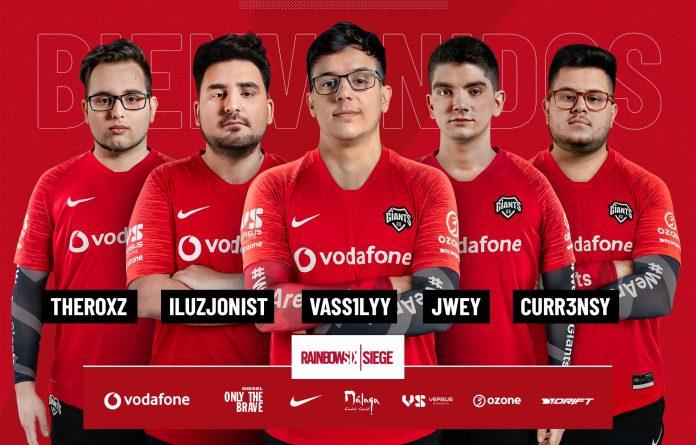 El nuevo roster de Vodafone Giants de cara a R6