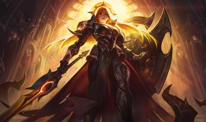 Leona eclipse solar nuevo campeón en Teamfight Tactics