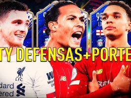 Van Dijk TOTY lidera la mejor línea defensiva de FIFA 20.