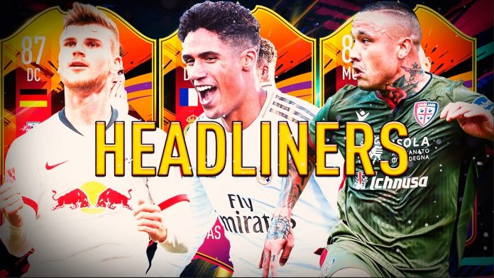 Los Headliners llegan a FIFA 20 este viernes.