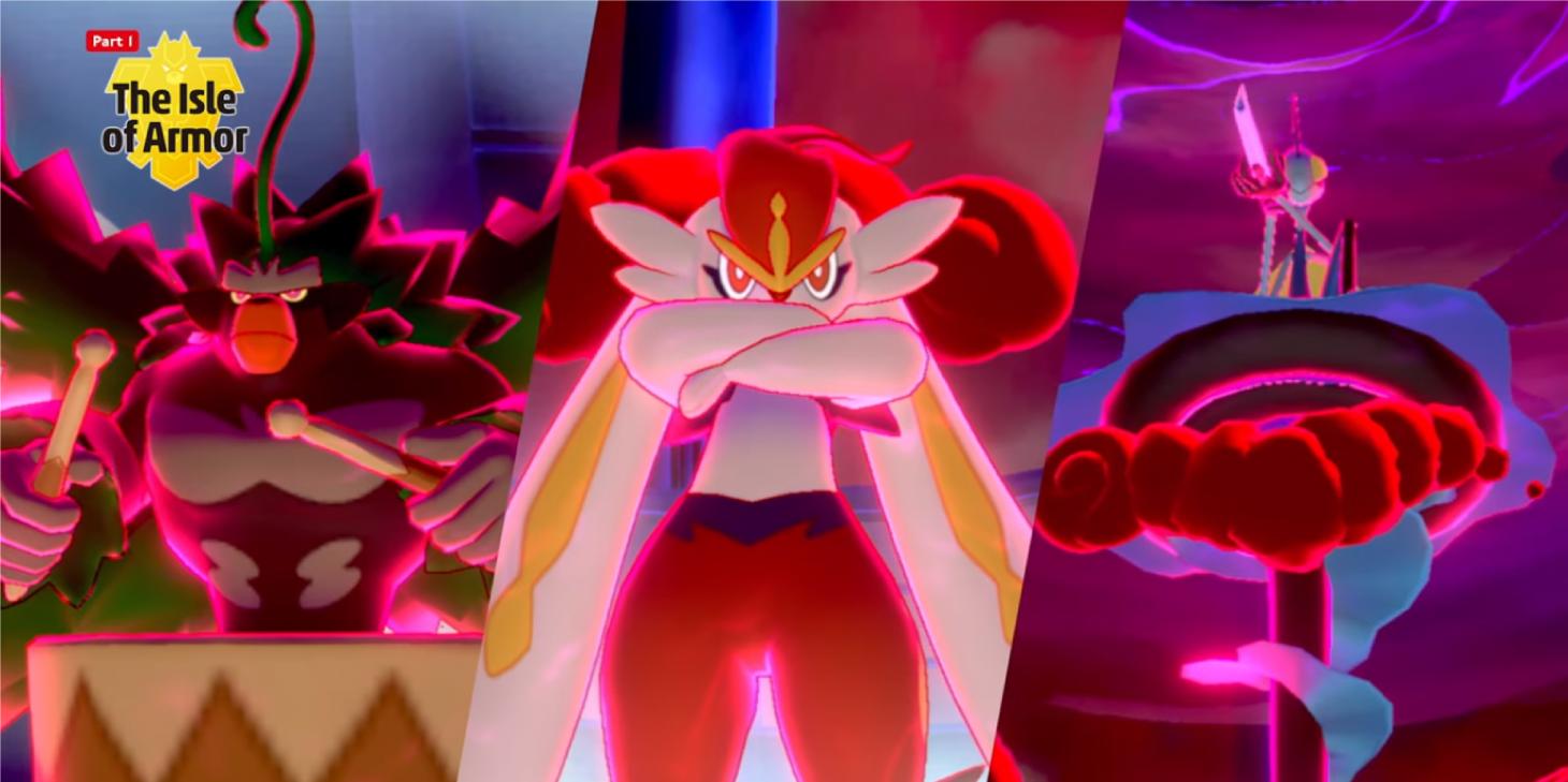Pokemon iniciales en su forma Gigamax