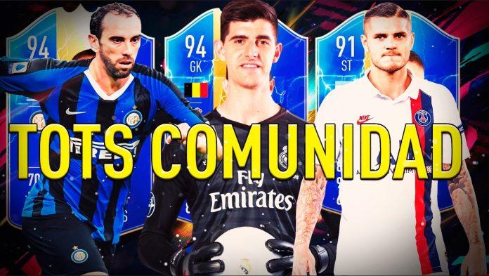 Los TOTS de la comunidad aterrizan este viernes en FIFA 20