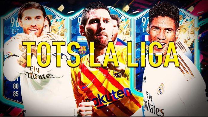 Messi lidera el equipo TOTS de la Liga Santander