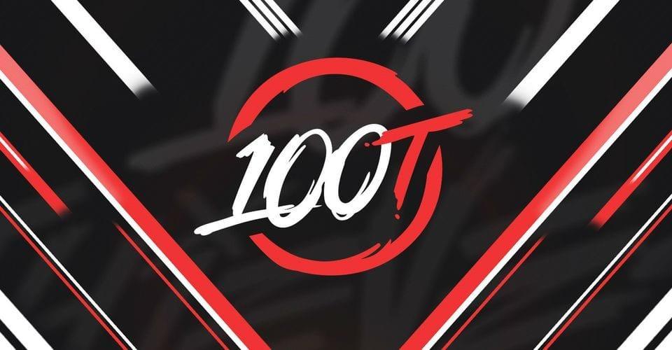 Logo de 100Thieves equipo de la LCS Norteamericana